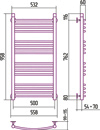 BOHEMIA ARC 1000x500